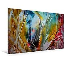 Calvendo Premium Textil-Leinwand 90 cm x 60 cm Quer, Entwicklungen | Wandbild, Bild auf Keilrahmen, Fertigbild auf Echter Leinwand, Leinwanddruck: Magische Prozesse Kunst Kunst