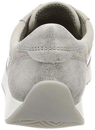 ara Damen Lissabon Sneaker Grau (sasso, zinn)