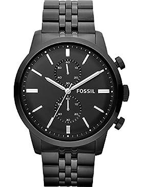 Fossil - Herrenuhr - Townsman - Schwarz - FS4787