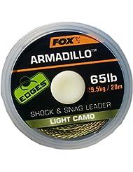 Fox Edges Armadillo Braid 65lbs 20m vorfach Ficelle
