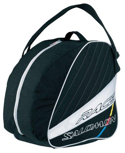 Salomon-Bolsa para Botas de esquí Absolute Gear Bag, Color Negro - Blanco/Negro, tamaño NS