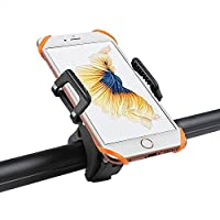 Vansky® Bike Phone Holder Universal Bicycle Phone Mount Bike Handlebar Cradle Clamp for Mobile Phone iPhone 7 6s 6 5s 5c 5,Samsung Galaxy S5 S4 S3, Google Nexus 5 4 and GPS Device