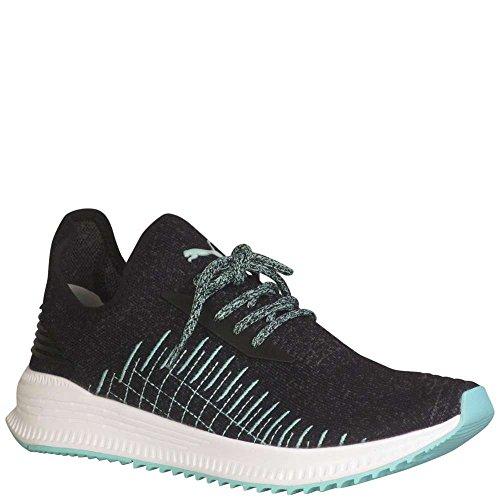 PUMA Avid Evoknit Diamond Mens Black Textile Athletic Lace Up Running Shoes 10 5