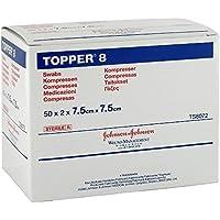 Topper 8 Kompressen, 50X2 St preisvergleich bei billige-tabletten.eu
