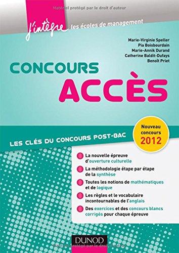Concours Accès - Les clés du concours post-bac