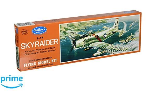 Hobbies Model Building Tools GUILLOWs Skyraider 904 Powered