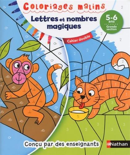 Lettres et nombres magiques : 5-6 ans, grande section