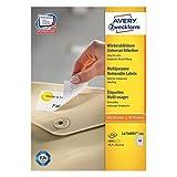 Avery Zweckform Universal-Etiketten 45,7x21,2 mm 100 Blatt/4800 Etiketten weiß
