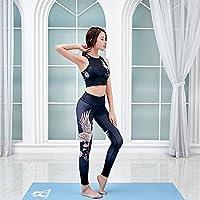 JIALELE Pantalon Yoga Ropa De Yoga Fitness Pecado Hak-Sello Stretch Yoga  Deportes Ropa Apretada 6be5bae2d3f0