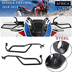 XX ecommerce Motorrad Stahlhandschutz Handschutz Lenkerprotektor für 2016-2018 H-o-n-d-a-CRF1000L CRF 1000 L Africa Twin 2017