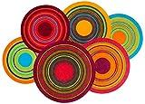 Wash&Dry 075714 Fußmatte Cosmic Colours, 110 x 175 cm