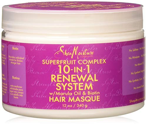 Shea Moisture Super Fruit 10 in 1 Hair Masque 12oz 340g - Deep Moisture Conditioner
