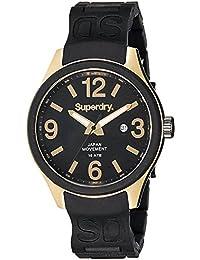 Superdry Analog Black Dial Men's Watch - SYG132BW
