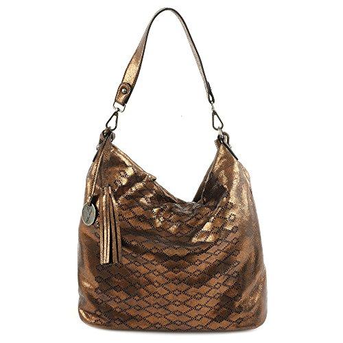 Suri Frey Tasche - Sherry - L Hobo - Bronze