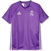 2016-2017 Real Madrid Adidas Training Shirt (Purple) - Kids