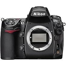 Nikon D700 SLR-Digitalkamera (12 Megapixel, Live View, Vollformatsensor) Gehäuse (Generalüberholt)