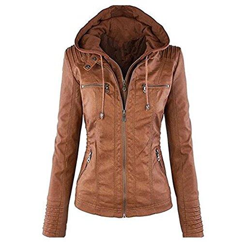 newbestyle-femme-veste-en-cuir-blousons-fermeture-eclair-manteau-a-capuche-court-veste