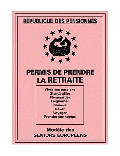 Joke Retirement Permit in French