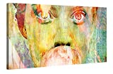 Premium Leinwanddruck 100x50 cm – Bubblegum Girl – XXL Kunstdruck Auf Leinwand Auf 2cm Holz-Keilrahmen – Handgemachte Fotoleinwand In Deutsche Markenqualität Für Wohn- Und Schlafzimmer Von Joe Ganech X Gallery Of Innovative Art
