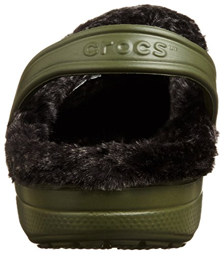 Crocs, Mules pour Homme Army Green/Black