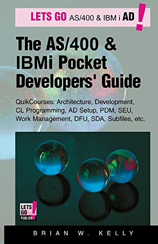 the-as-400-and-ibm-i-pocket-developers-guide-quikcourses-architecture-ad-setup-cl-pdm-seu-dfu-work-m
