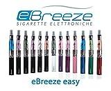 Starter Kit sigaretta elettronica modello eGo-T, evaporatore CE5 da 1,6 ml - Il prodotto non contiene nicotina (blu)