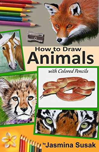 How To Draw Animals With Colored Pencils Learn To Draw