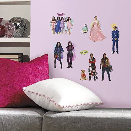 Price comparison product image RoomMates Disney's Descendants Wall Stickers,  Vinyl,  Multi,  28x3x9 cm