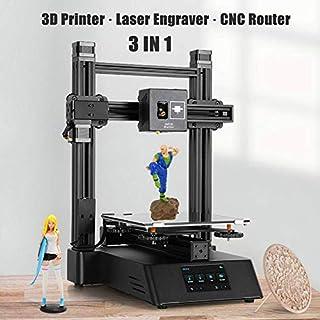 3 in 1 3D Drucker, Laser Graviermaschine CNC Router Fräsen Graveur Mahine Modell Drucker 3D-Druck & Digitalisierung DIY Carving Engraver Tool