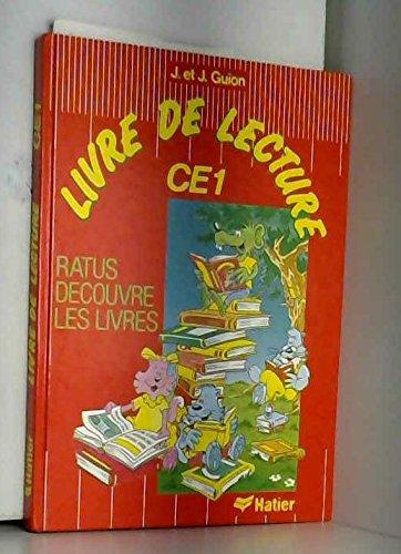Ratus découvre les livres CE1 manuel elementaire                                              052397
