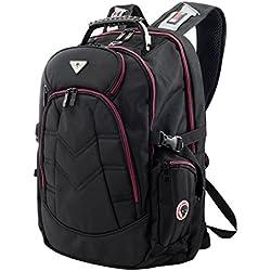 SOG e17re bolsas à Dos para PC negro/rojo