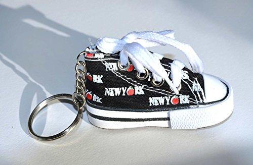"""Preisvergleich Produktbild Schlüsselanhänger New York """"Sneakers of New York"""" (schwarz)"""