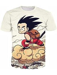 Dragon Ball Bulma Super Saiyan Vegeta Camiseta 3D Hombres Mujeres Anime Goku Goten Gohan Camiseta Harajuku