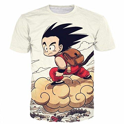 Dragon Ball Bulma Super Saiyan Vegeta Camiseta 3D Hombres Mujeres Anim