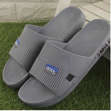 Slippers & amp da uomo;Estate slingback gomma casuale tallone piano Blu Caffè Sandali sandali US11.5 / EU45 / UK10.5 / CN47