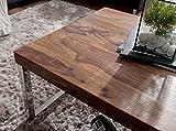FineBuy Massiver Couchtisch Java 120 x 60 x 40 cm Sheesham Massiv Holz Tisch | Design Wohnzimmertisch aus Massivholz | Beistelltisch Rechteckig Braun - 6