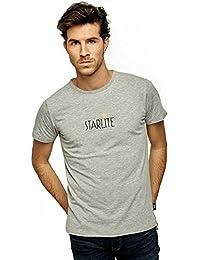 Starlite Shop 10168, Camiseta para Hombre, Gris (Grey), Small (Tamaño del Fabricante:S)