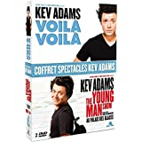 Coffret spectacles Kev Adams : Voilà voilà + The Young Man Show