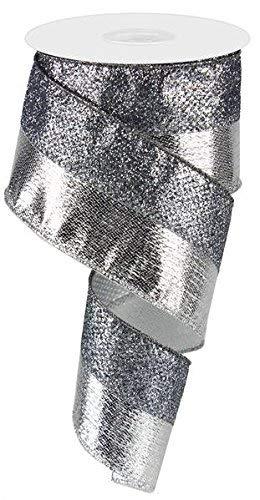 Metallic & Draht glitzernd Edge Band-6,3cm X 10Meter 2.5