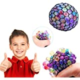 Party Propz® Grape Ball Stress Relief Squeeze Hand Wrist Toy Balls Anti Stress Healthy Venting Ball Autism Mood Squeeze Relief Gift (Set Of 2)