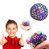 #10: Almand Mesh Squishy Stress Relief Balls Tear-Resistant Non-Toxic, Birthday Party Favors , for Kids & Adults for Autism, ADHD, Bad Habits (1 Piece)