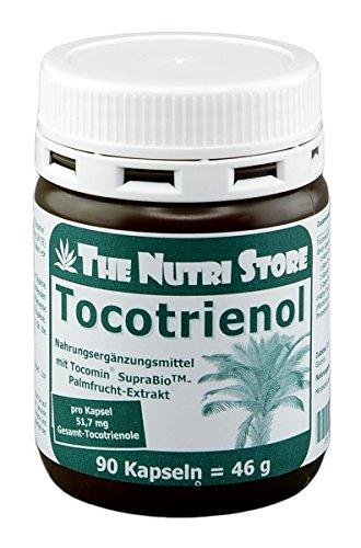 Tocotrienol Kapseln 90 Stk - mit 340 mg Tocotrienol-Tocopherol-Extrakt - 3 Monatsvorrat -