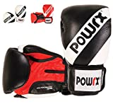 Trainings-Boxhandschuhe Profi Echt-Leder Damen Herren Boxing Gloves 10 12 14