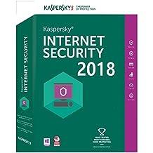 Kaspersky Internet Security 2018 - 3 PC / 1 Jahr Lizenz Code