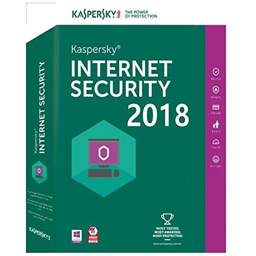 Preisvergleich Produktbild Kaspersky Internet Security 2018 - 3 PC / 1 Jahr Lizenz Code