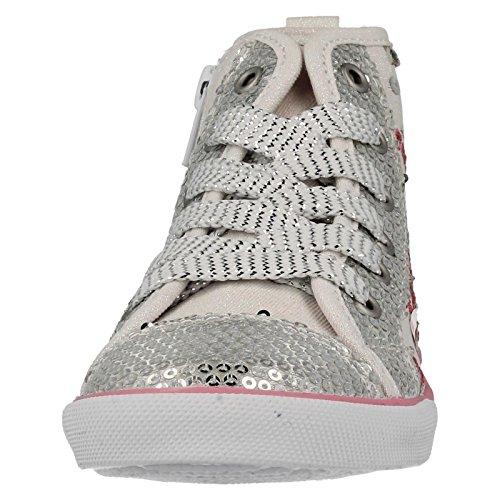 Start Rite Frangipani, Baskets mode fille White Sparkle Canvas