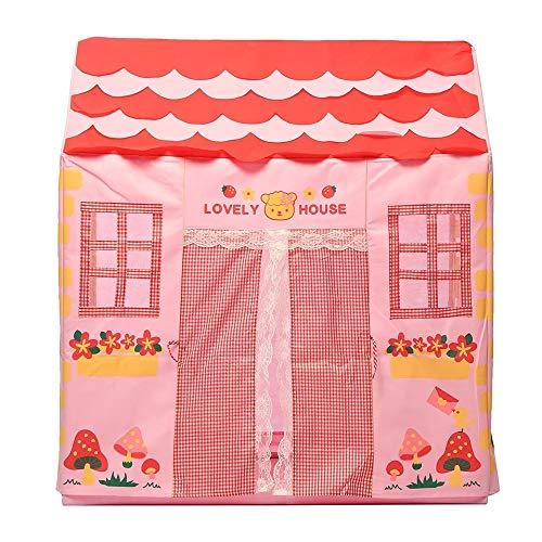 Prinzessin Und Prinz Partei Ideen - Mädchen-Kind-Prinzessin Pink Spielhaus im Freien Garten-Zelt
