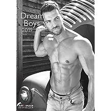 Dream Boys 2019 - Fotokalender, Erotikkalender, Wandkalender A3 - 29,7 x 42
