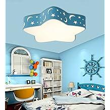 Malovecf habitación infantil lámpara de techo LED Bombilla 36 W completo regulable con mando a distancia