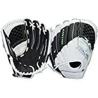 Easton sinergy Elite Fastpitch guante - 8034811, Lanzador diestro, Negro/Blanco